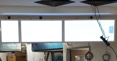 Panneaux rétro-éclairés