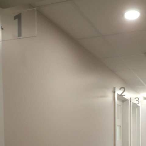 Signalisation des salles