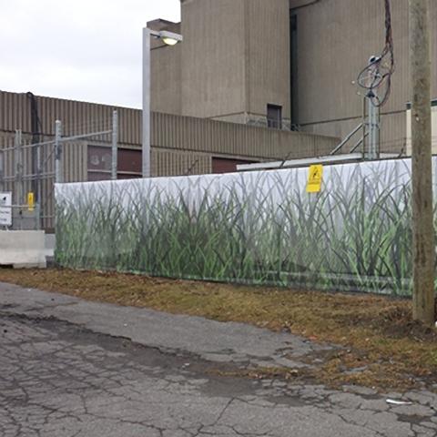 Impression pour clôture