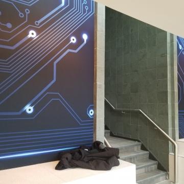 Images sublimées tendues sur cadre d'aluminium