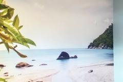 Murale, photo libre de droits plage
